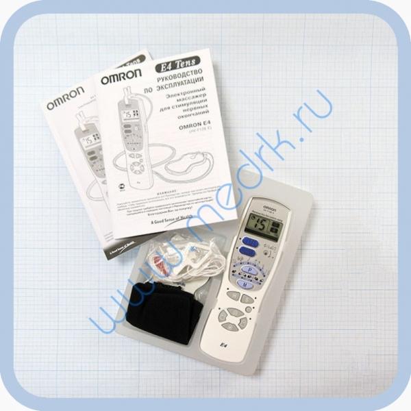 Массажер миостимулятор электростимулятор Omron E4 Tens электрический  Вид 2