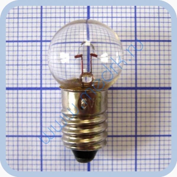 Лампа накаливания OP 6V 6W E10 миниатюрная
