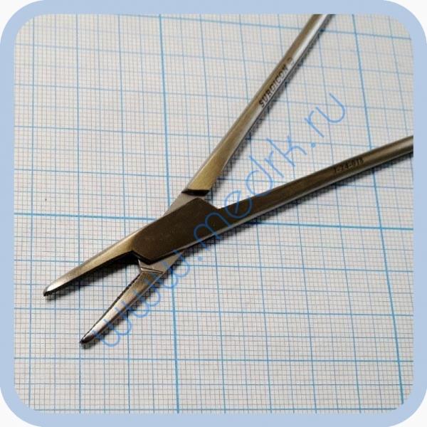 Иглодержатель общехирургический, 160мм J-24-018 (Surgicon)  Вид 2