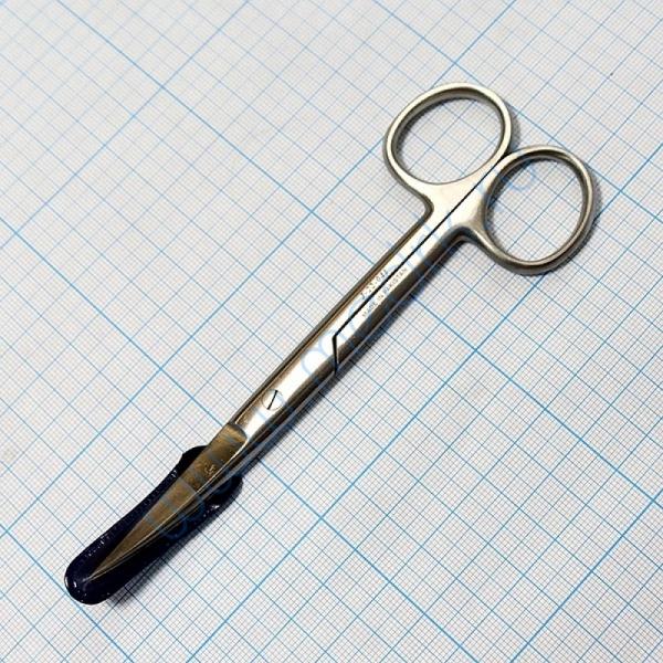Ножницы вертикально-изогнутые 145 мм J-22-041  Вид 1