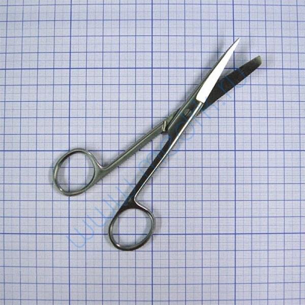 Ножницы изогнутые  145 мм J-22-034   Вид 1