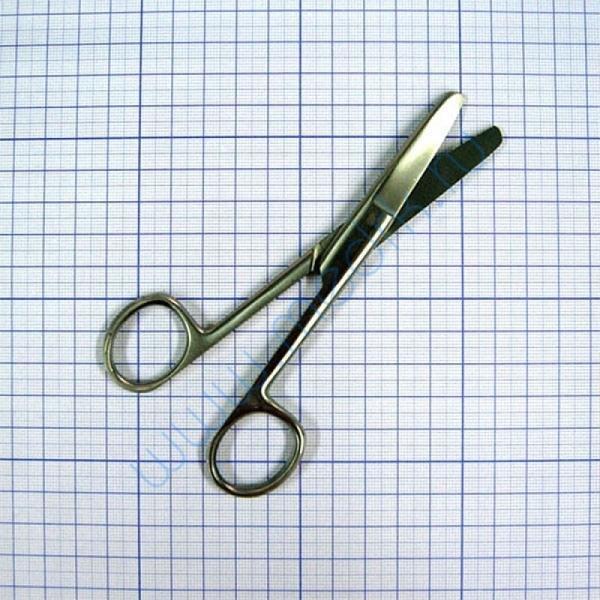 Ножницы изогнутые тупоконечные 145 мм J-22-027