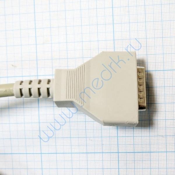 ЭКГ кабель пациента (отведения) Fiab F6746R без скоб, с 4-мм штекерами  Вид 3