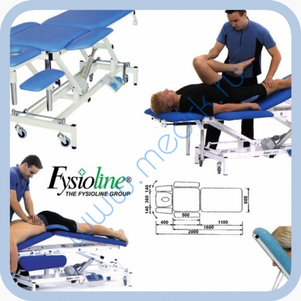 Стол массажный Professional-M  Вид 1