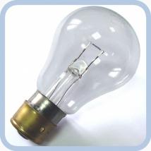 Лампа накаливания ЖС 12-25 P24s/17