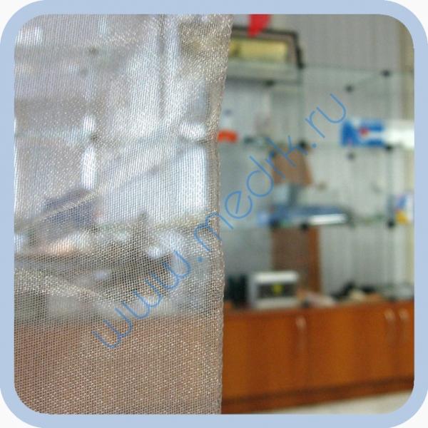 Ткань металлизированная посеребренная  Вид 1