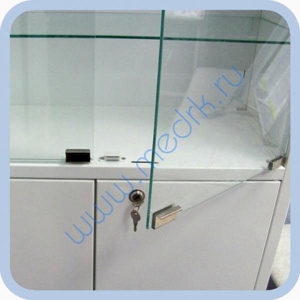 Шкаф медицинский металлический ШМ-02-МСК  Вид 1