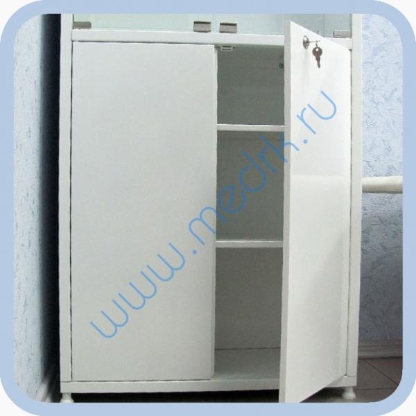 Шкаф медицинский металлический ШМ-02-МСК  Вид 3