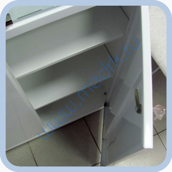 Шкаф медицинский металлический ШМ-02-МСК  Вид 5