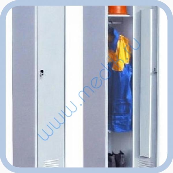 Шкаф металлический медицинский ШМО-1  Вид 1
