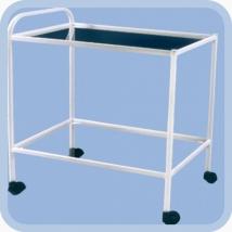 Столик манипуляционный МСК-501-02М (стекло/нержавейка)