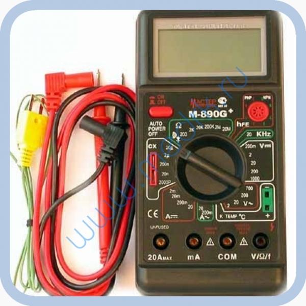 Мультиметр Мастер M890G+ цифровой