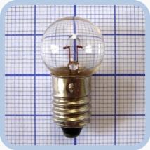 Лампа накаливания OP 6V 5W E10 миниатюрная