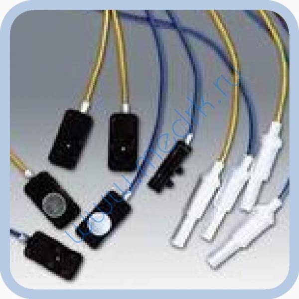 Электрод ЭЭГ плоский (с проводом)  Вид 1