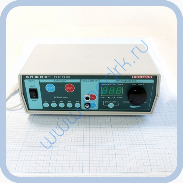 Аппарат ЭЛФОР-ПРОФ для электрофореза  Вид 4