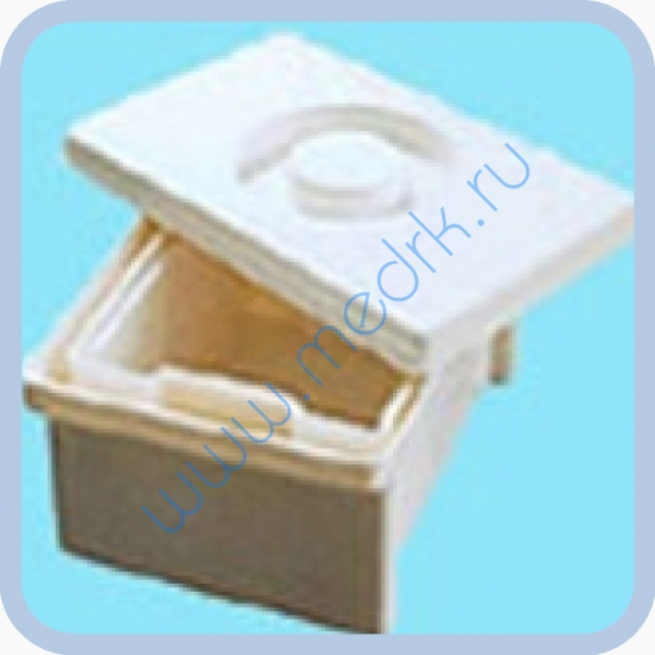 Емкость-контейнер полимерный для дезинфекции и предстерилизационной обработки медицинских изделий ЕДПО-10-01  Вид 1