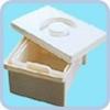 Емкость-контейнер полимерный для дезинфекции и предстерилизационной обработки медицинских изделий ЕДПО-10-01