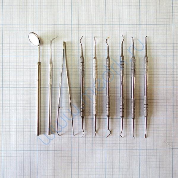 Набор стоматологический для снятия зубных отложений (из 9 инстр.) СТ-10-304   Вид 3