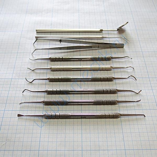 Набор стоматологический для снятия зубных отложений (из 9 инстр.) СТ-10-304   Вид 4