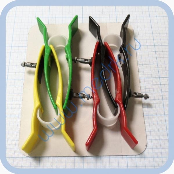 Электрод конечностный для взрослых с винтом и зажимом FIAB F9024SSC  Вид 2
