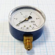 Манометр кислородный МП2-УУ2 х 10.0 kgf/cm2