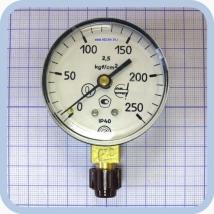 Манометр МП2-УУ2 х 250.0 kgf/cm2