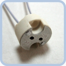 Патрон для ламп с цоколем G4 и G5,3 и G6,35