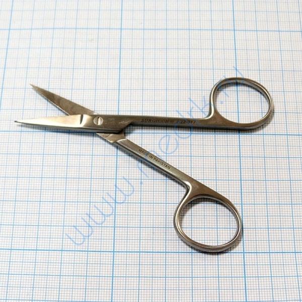 Ножницы прямые с 2 острыми концами 100 мм J-22-017  Вид 5