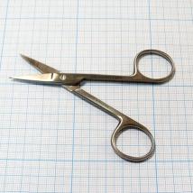 Ножницы прямые с 2 острыми концами 100 мм J-22-017