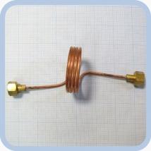 Змеевик ЗР рамповый для медицинских газов
