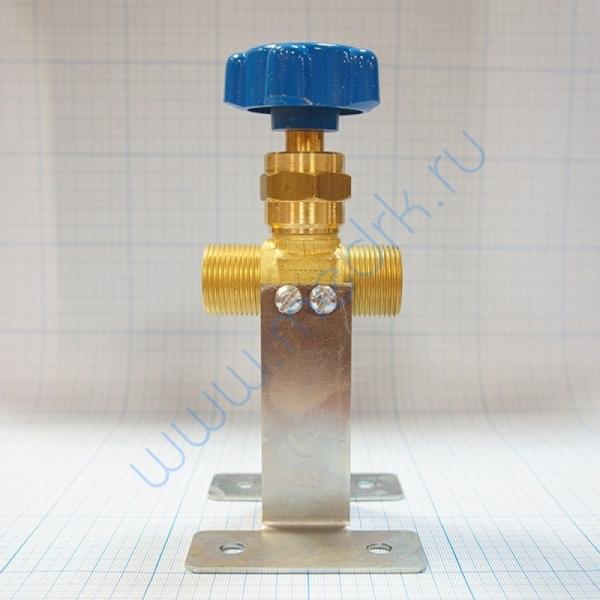 Клапан запорный проходной К-1409-250 с кронштейном  Вид 5