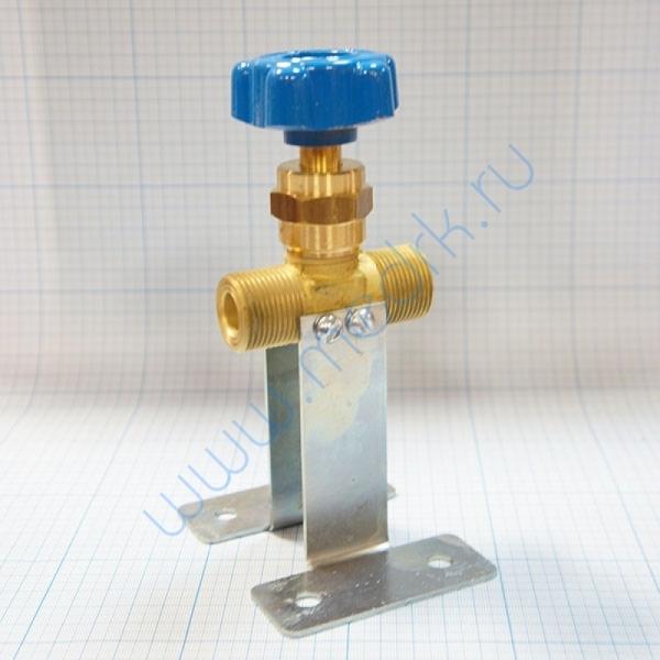 Клапан запорный проходной К-1409-250 с кронштейном  Вид 6