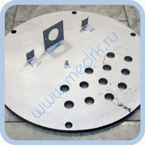 Крышка ЦТ129М.02.050 для парогенератора ЦТ129М.02.000 стерилизатора ГК-100-3  Вид 2