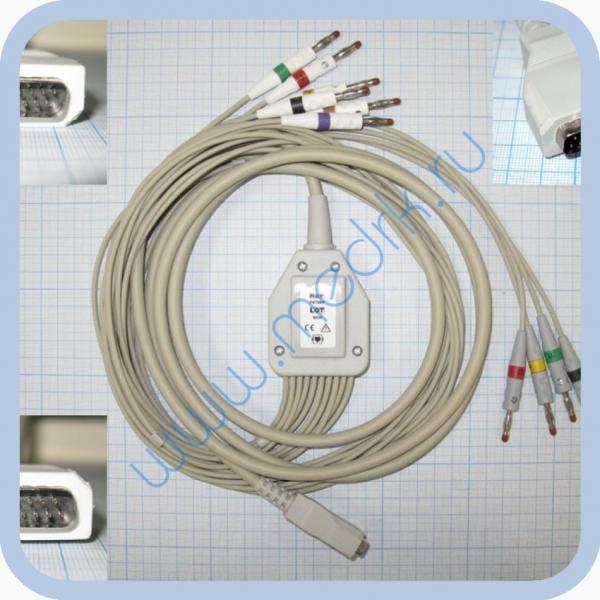 Кабель пациента FIAB F6738R для ЭКГ  Вид 2