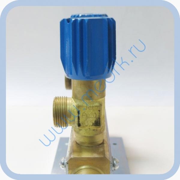 Коллектор рамповый КР-01 кислородный 3-х вентильный  Вид 5