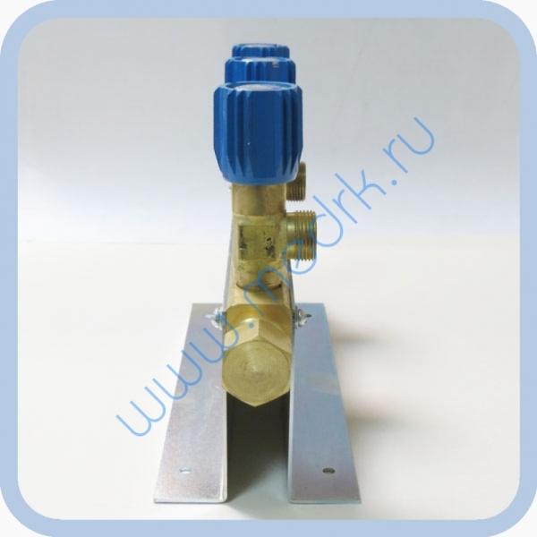 Коллектор рамповый КР-01 кислородный 3-х вентильный  Вид 8
