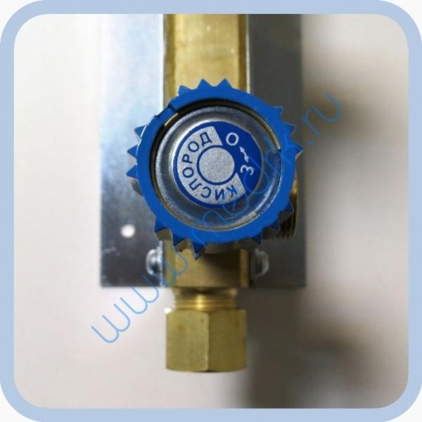 Коллектор рамповый КР-01 кислородный 3-х вентильный  Вид 11