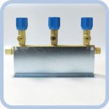 Коллектор рамповый КР-01 кислородный 3-х вентильный