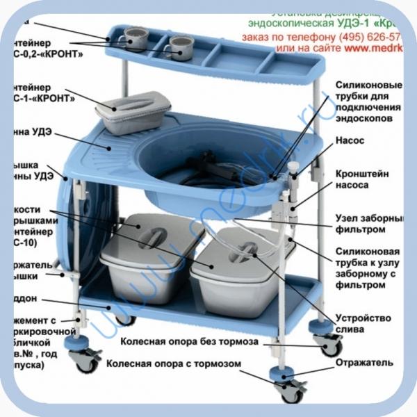 Установка для дезинфекции и стерилизации гибких эндоскопов УДЭ-1 Кронт  Вид 1
