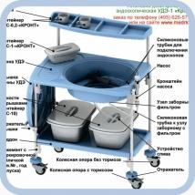 Установка для дезинфекции и стерилизации гибких эндоскопов УДЭ-1 Кронт