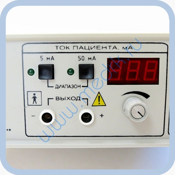 Аппарат Поток-Бр для электрофореза и гальванизации  Вид 7