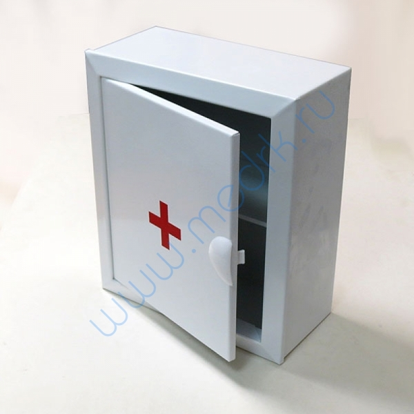 Аптечка 2 металлическая настенная (330х280х140)  Вид 1