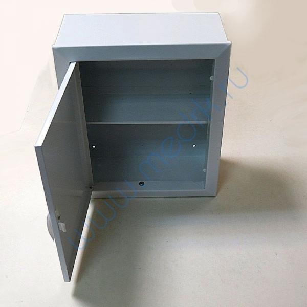 Аптечка 2 металлическая настенная (330х280х140)  Вид 5