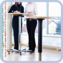 Опора для стола с изменяемой высотой