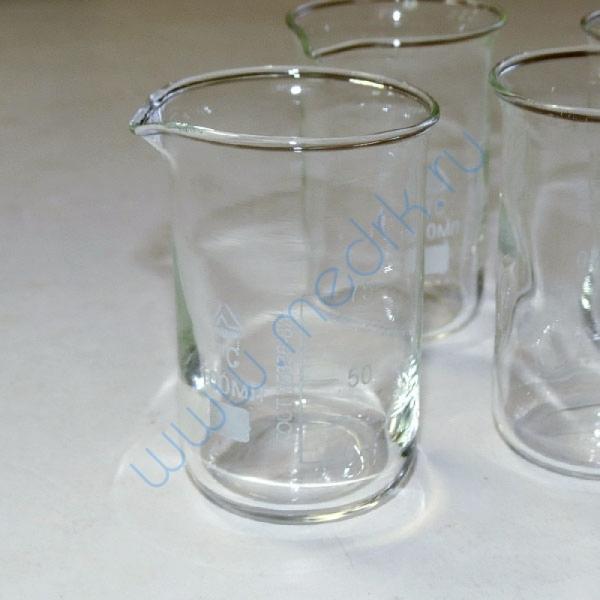 Стаканы стеклянные лабораторные В-1 с мерной шкалой  Вид 1