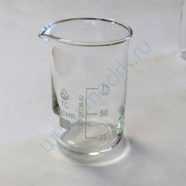 Стаканы стеклянные лабораторные В-1 с мерной шкалой  Вид 2