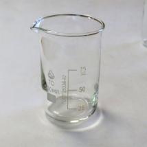 Стаканы лабораторные стеклянные В-1 с мерной шкалой