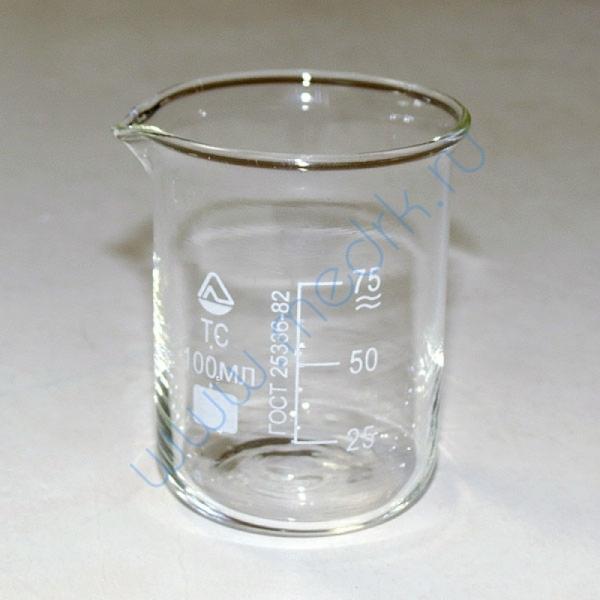 Стаканы стеклянные лабораторные Н-1 с мерной шкалой  Вид 4