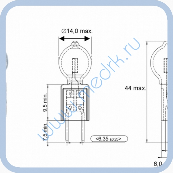 Лампа галогенная Osram 64292 XIR