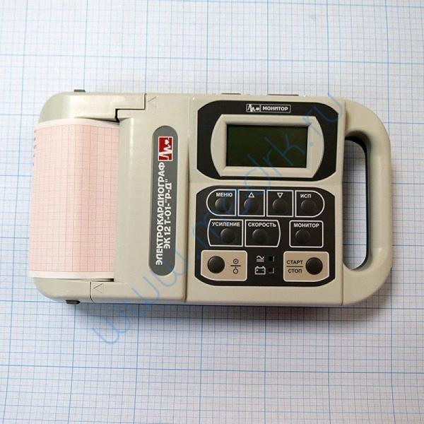 Электрокардиограф ЭК12 Т-01-Р-Д (с монохромным монитором 63 мм по диагонали) D0200  Вид 5